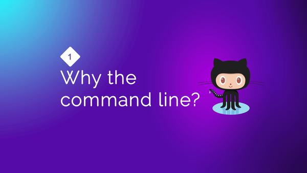 Why learn Git from the Command line? video image
