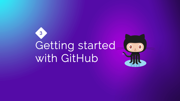 Getting started with GitHub video image