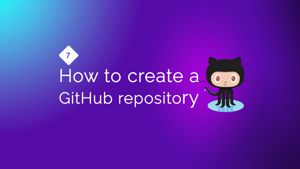 How to create a GitHub repository from scratch video image